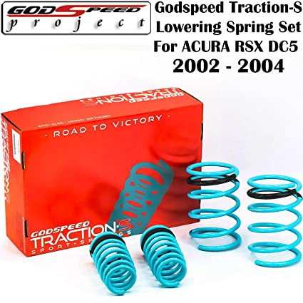 Amazoncom GODSPEED TRACTIONS LOWERING SPRINGS FOR ACURA - 2002 acura rsx lowering springs