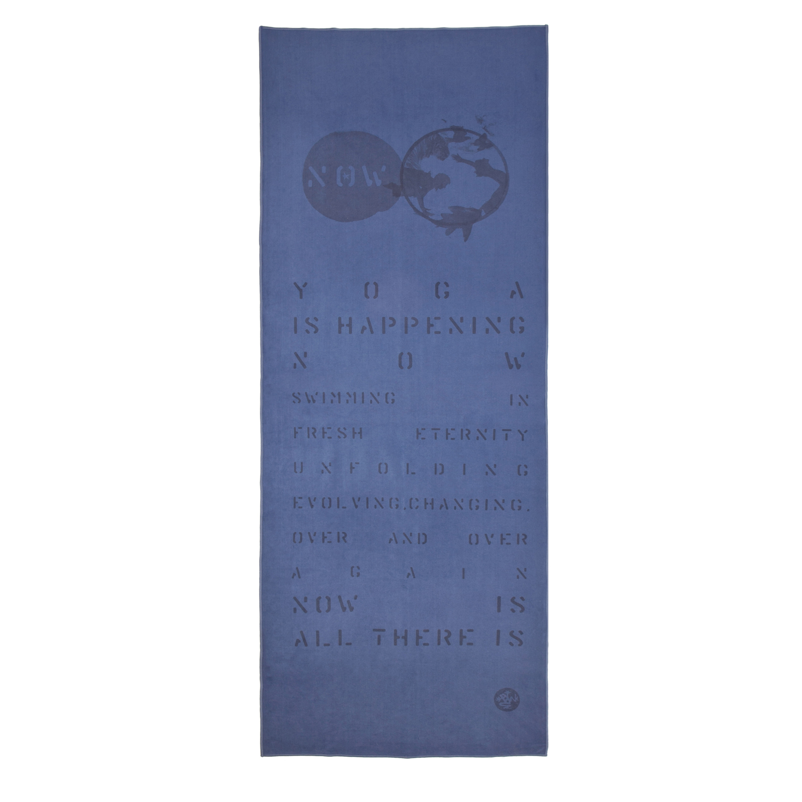 Amazon.com: TOALLA para YOGA de MANDUKA eQUA MAT coleccion LYRICS NOW: Health & Personal Care