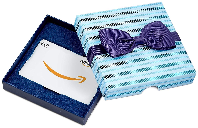 Amazon.de Geschenkkarte in Geschenkbox (Blaue Streifen) - mit kostenloser Lieferung per Post Amazon EU S.à.r.l.