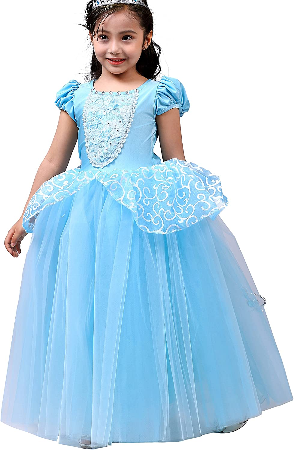 Dressy Daisy Girls Princess Costumes Halloween Party Princess Dress Up