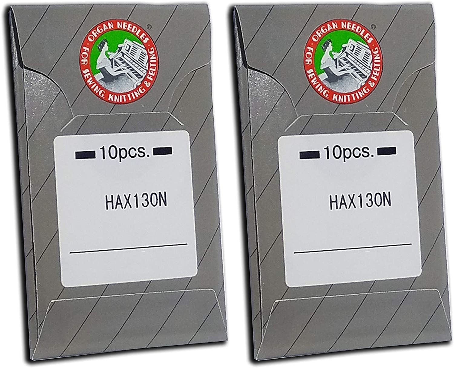20 Organ HAX130N Top-Stitch and Embroidery Flat Shank Home Sewing Machine Needles ~ Multiple Sizes! (Metric 90/14)
