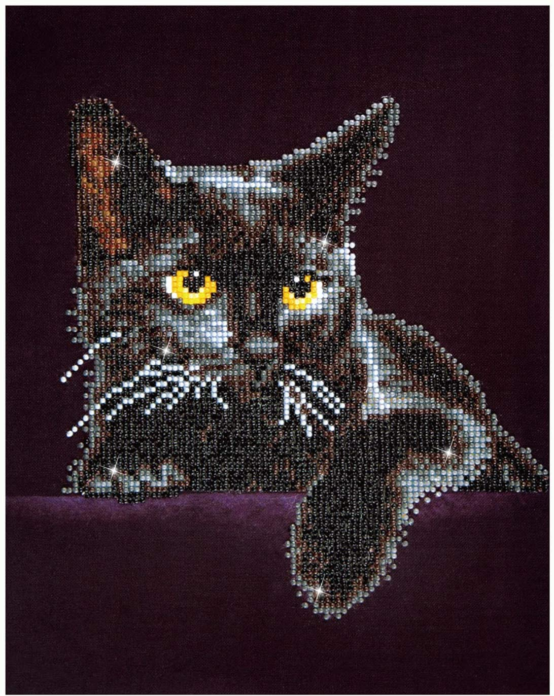 Black Cat Wall Hanging-Plastic Canvas Pattern or Kit