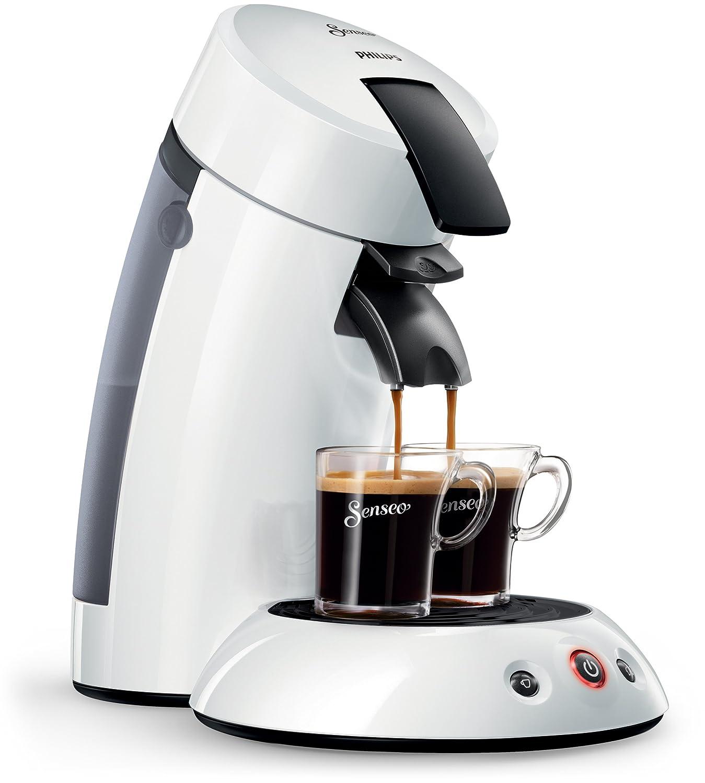 Senseo Original HD7817/10 - Cafetera (Independiente, Máquina de café en cápsulas, 0,7 L, Cápsula de café, 1450 W, Blanco): Amazon.es: Hogar