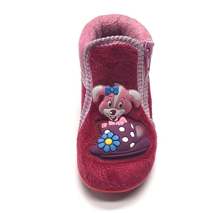 504f018626f596 Kinder Hausschuhe Schuhe Kindergartenschuhe Gr.21-24 NEU GEZER 22 Rot-Rosa   Amazon.de  Schuhe   Handtaschen
