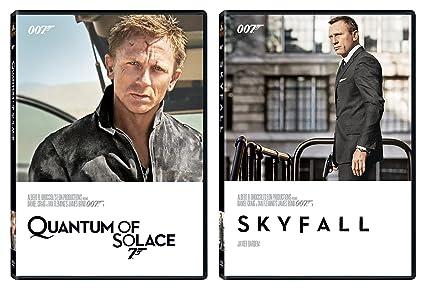 fcf3dc6ca276f Amazon.com: Skyfall DVD & Quantum of Solace 2 Pack James Bond 007 ...