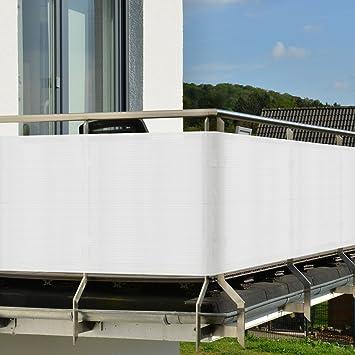 Sol Royal Brise Vue Pour Balcon   Terrasse   Paravent   Avec Fixation    Résiste