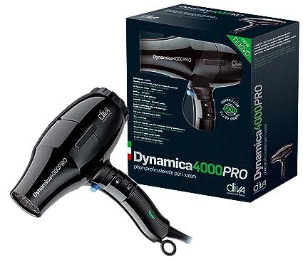 Diva DYNAMICA 4000 Pro negro Gloss – Secador de pelo