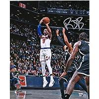 "$112 » R.J. Barrett New York Knicks Autographed 8"" x 10"" Shooting Photograph - Fanatics Authentic Certified"