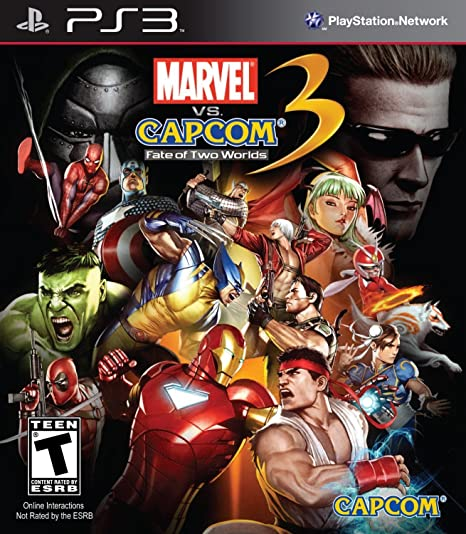 Marvel Vs Capcom 3: Fate of Two Worlds (PS3) PlayStation 3 Games at amazon