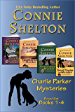 Charlie Parker Mysteries Boxed Set (Books 1-4): The Girl and Her Dog Cozy Mysteries (Charlie Parker New Mexico Mystery Series Book 0)