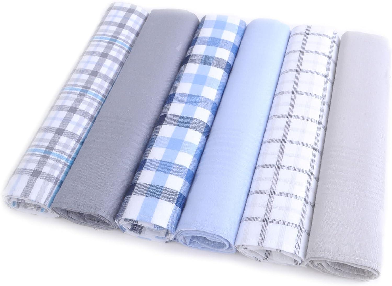 Boxed 6 pc Cotton Handkerchiefs