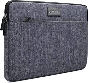 "KIZUNA 13 Inch Laptop Sleeve Computer Case Water Resistant Bag for 13.5"" Surface Book 3/ThinkPad X1 Carbon/Lenovo Yoga C930 C740 S740/IdeaPad C340/HUAWEI MateBook D 14/DELL Latitude 14/ASUS, Grey"