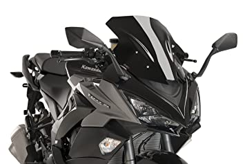 Puig 9408N Racing Scheibe Kawasaki Z1000SX Schwarz