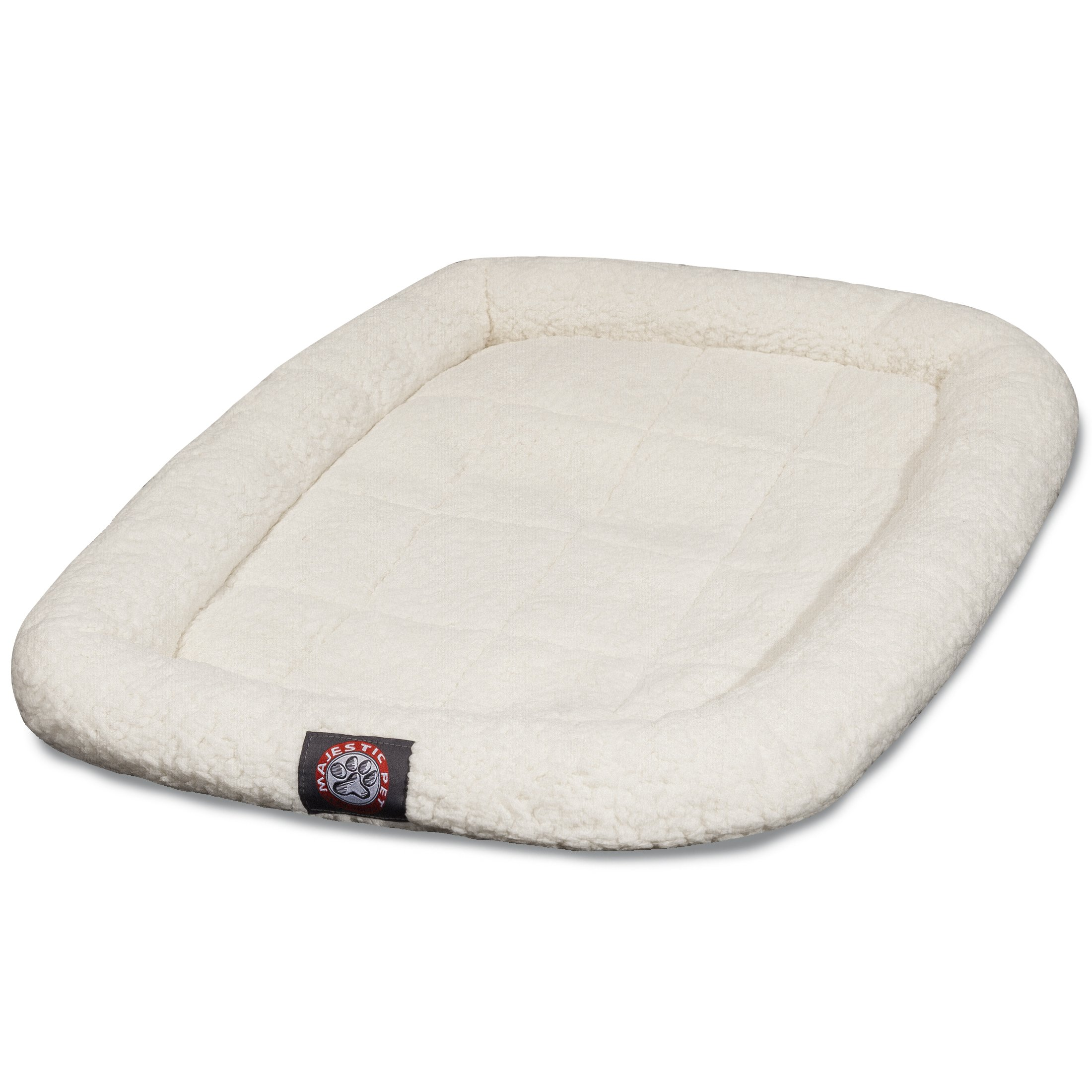 42 inch Sherpa Crate Pet Bed Mat By Majestic Pet Products by Majestic Pet (Image #1)