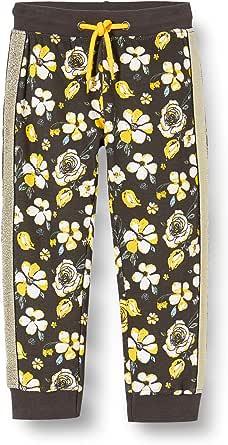 blue seven Mädchen Sweathose Mit Blumen-Muster Pantalones de Deporte para Niñas