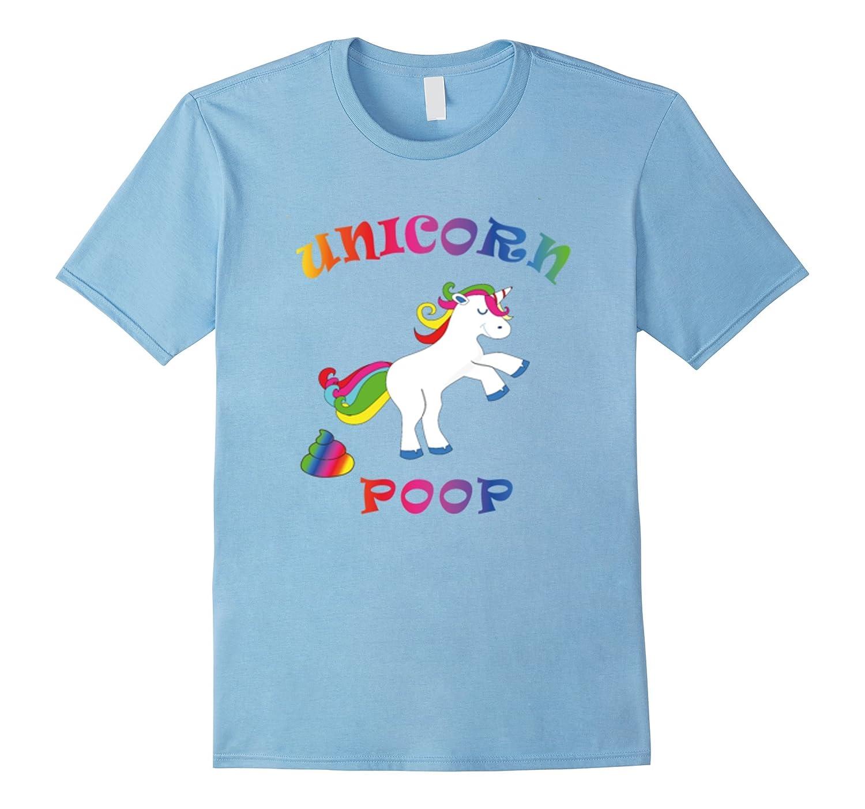 Unicorn Party Poop T Shirt The Unicorn Funny Unicorns