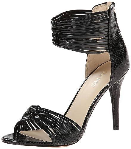bc8706b01a6c Nine West Women s Dechico Synthetic Heeled Sandal