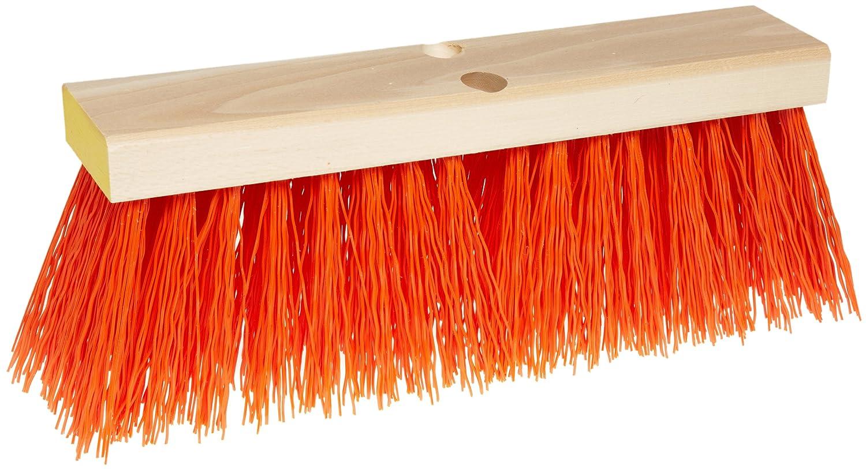 Weiler 70212 Polypropylene Street Broom, 16' Overall Length, Natural 16 Overall Length Weiler Corporation