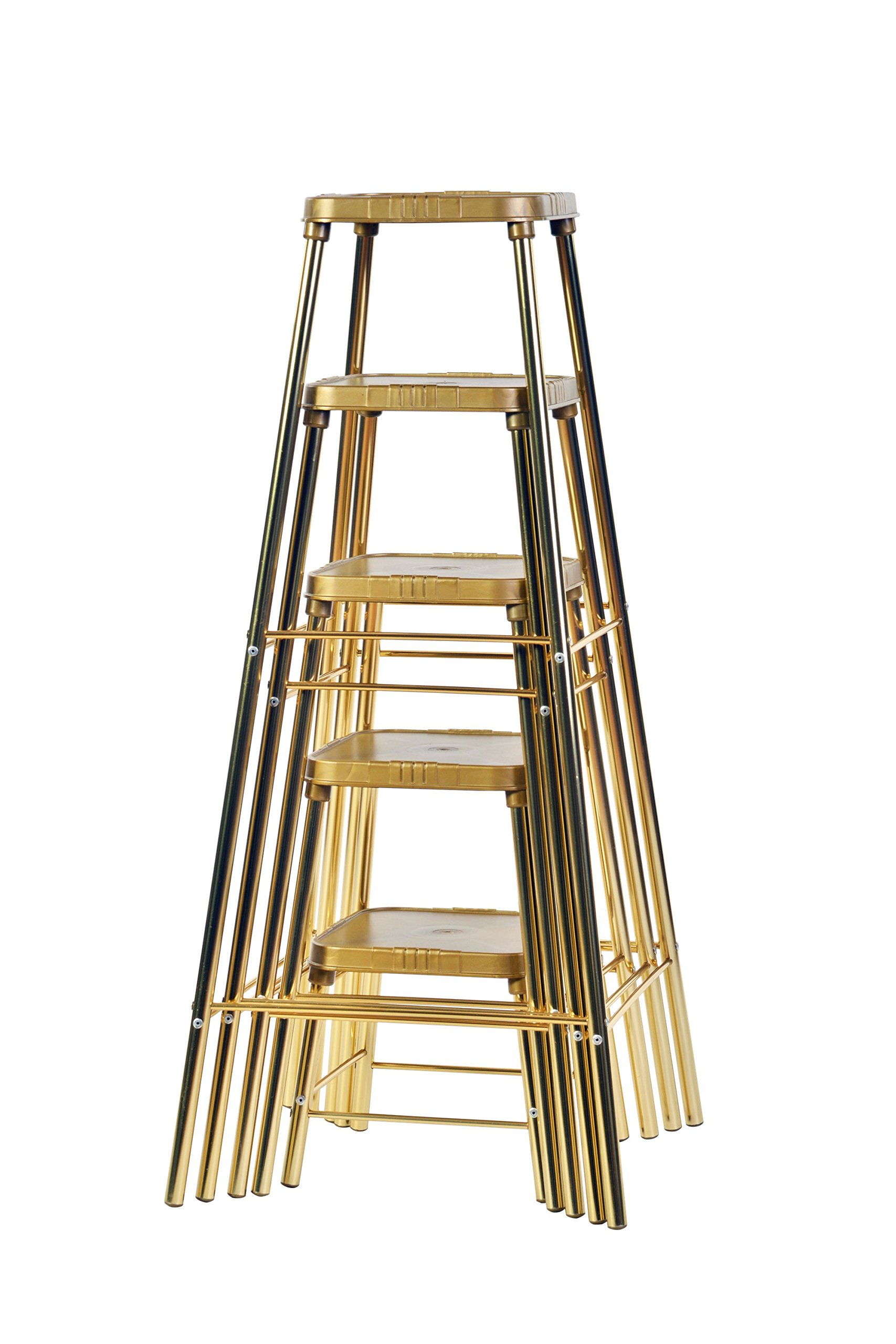 XL Industries Nesting Display Stands-Set of Five