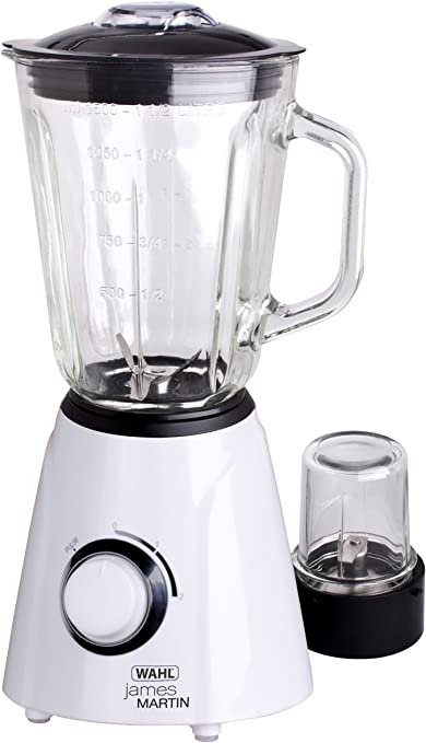 James Martin by Wahl ZX841 Table Blender and Grinder, 500 W, 1.5 L