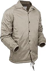 f5d56a67b06 Hat and Beyond Mens Coaches Jackets Waterproof Windbreaker Coat Active  Sportswear