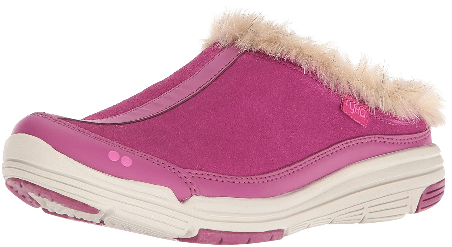 Ryka Women's Azure Fashion Sneaker B01BII2XEI 8 B(M) US|Wine/Pink/Grey