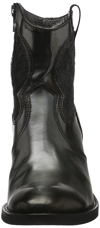 HIP Damen D1057 Silber Kurzschaft Stiefel Silber D1057 (91co/Cc) aad078
