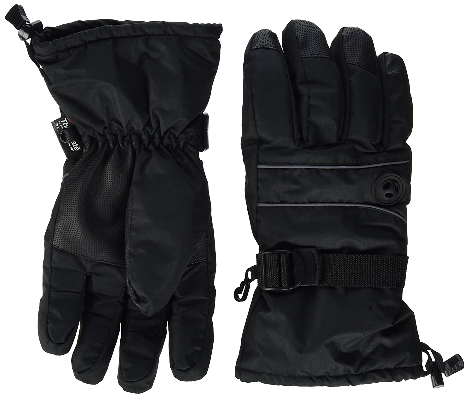 Mens gloves at matalan - Terra Hiker Waterproof Ski Gloves Thermal Thinsulate Gloves For Winter Sports