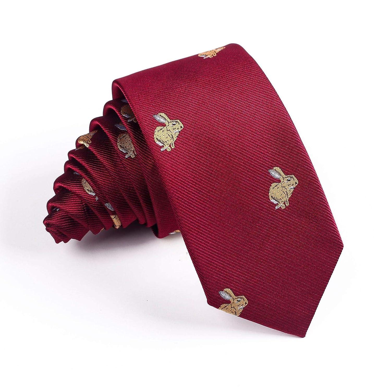 HYCZJH 6 cm Corbatas para Hombre Nuevo Hombre Moda Corbatas ...