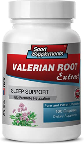 Valerian Extract Tablets – Valerian Root Extract 4 1 125mg – Promote Relaxation with Valerian Root Supplement 1 Bottle 100 Capsules