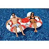 Solstice Super Chill River Tube Double Duo with Cooler