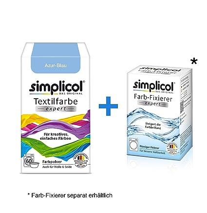 Simplicol Expert + fijador del Color Paquete de Kombi Fabric Dye ...