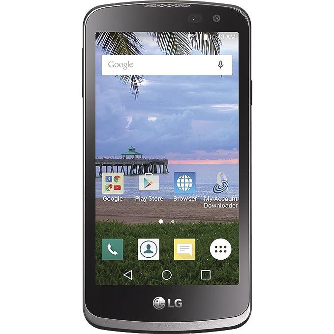 56ef275e0d2 Amazon.com: TracFone LG Rebel 4G LTE Prepaid Smartphone - CDMA ...