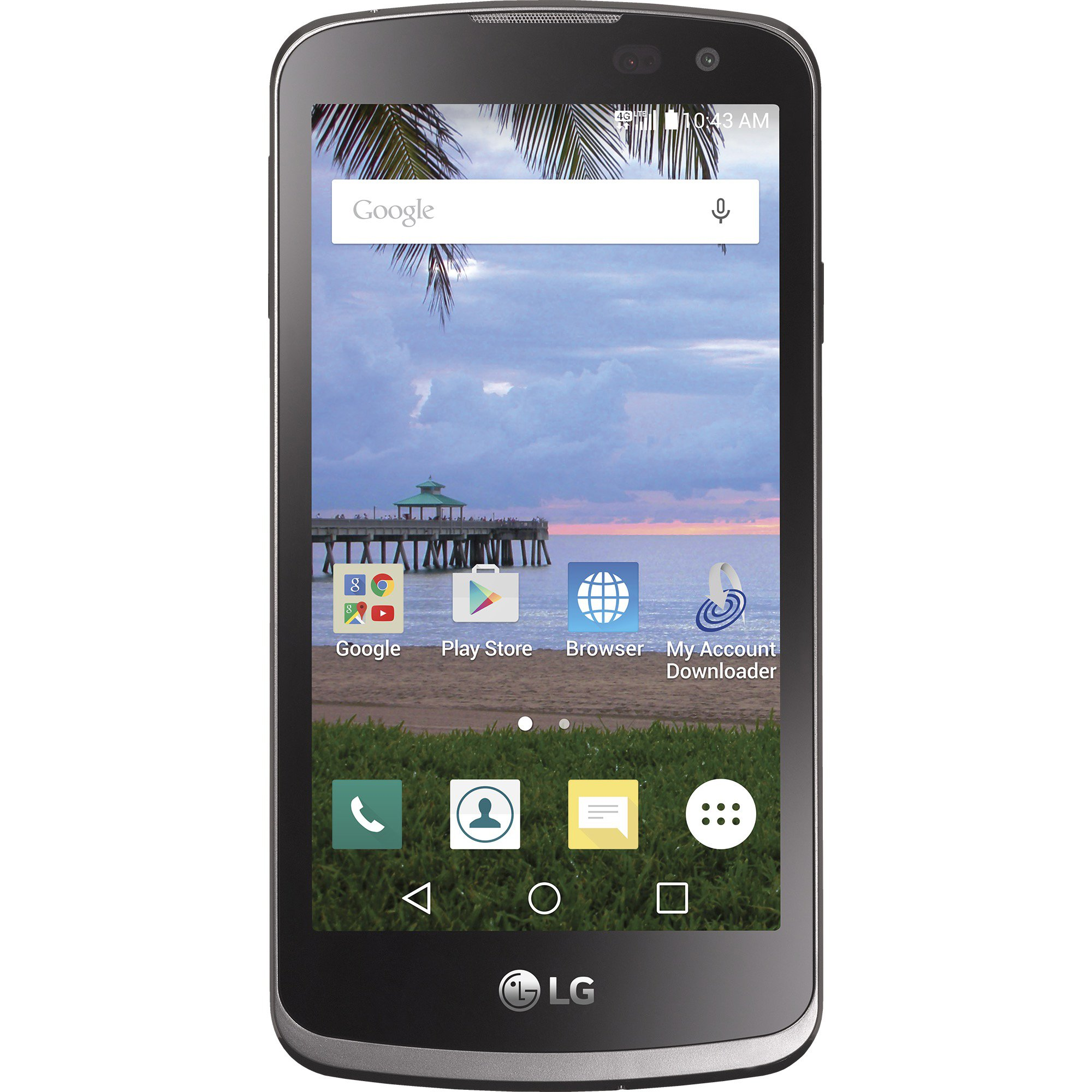 TracFone LG Rebel 4G LTE Prepaid Smartphone - CDMA Variant Handset by TracFone (Image #1)