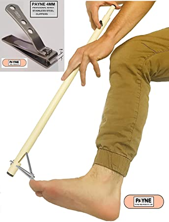 Amazon Com Easy Reach Toe Nail Clippers Health Personal Care