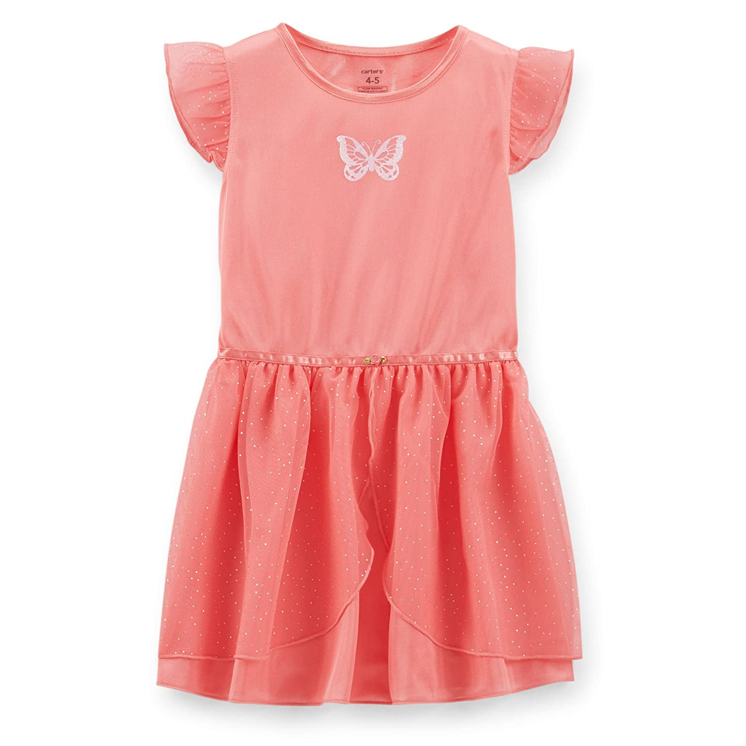 16e5c2620f49 Amazon.com  Carter s Little Girls  Princess Tulle Nightgown - Pink ...