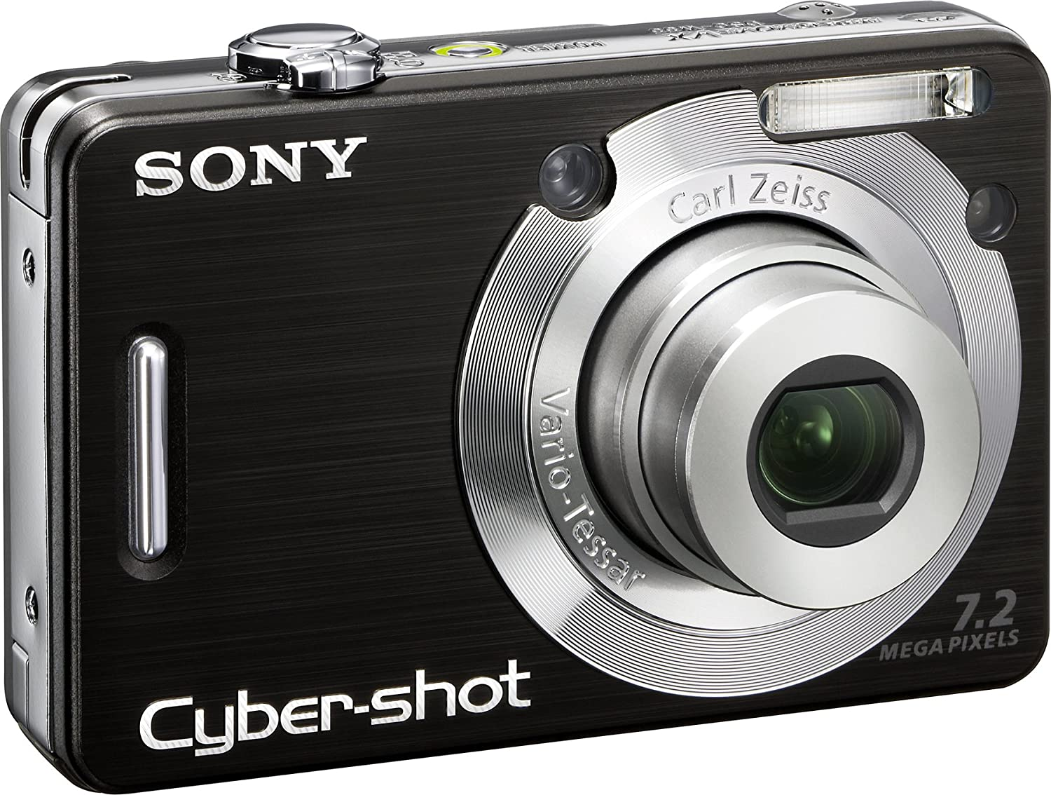 Amazon.com : Sony Cybershot DSCW55 7.2MP Digital Camera with 3x Optical  Zoom (Black) (OLD MODEL) : Point And Shoot Digital Cameras : Camera & Photo