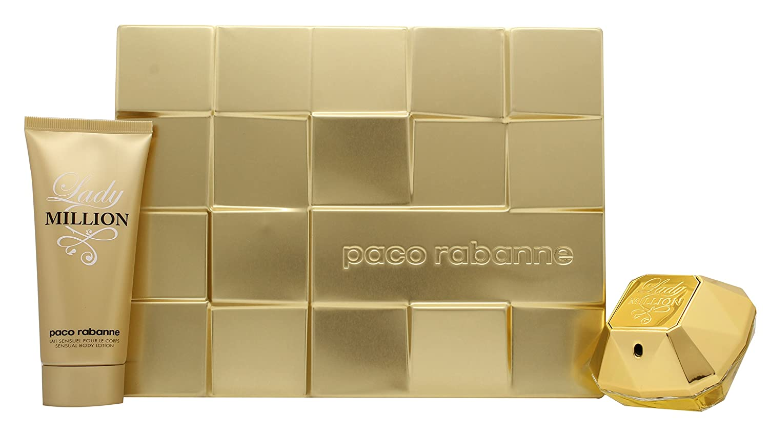 Paco Rabanne Lady Million Gift Set - 2 Piece: Amazon.co.uk: Health ...