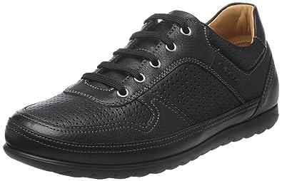 chaussure noir et rose geox
