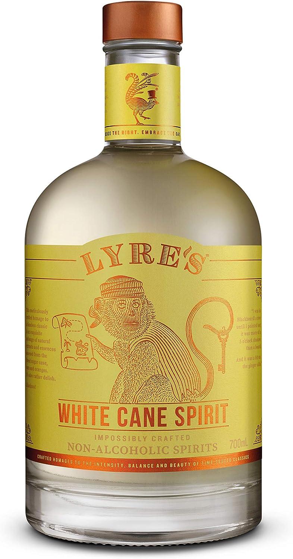 Lyres White Cane - Bebida espirituosa sin alcohol - Estilo Ron Blanco | Premiado | 700ml