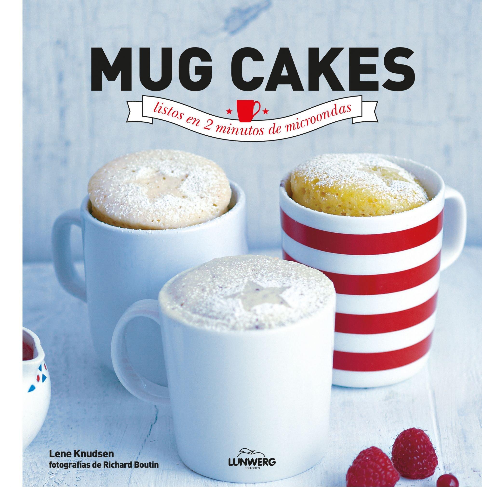 Mug cakes listos en 2 minutos de microondas Gastronomía: Amazon.es ...