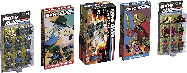 Joe Construction Commandos Hasbro 4537373 SDCC 2015 Exclusive Kre-O G.I