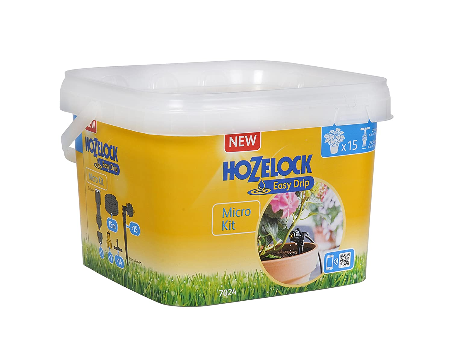Hozelock Automatic Watering Kit for Pots and Containers 7024 0000