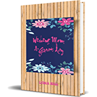 WISHING MOM A GREAT DAY: Happy Mothers notebook ,wood frame cover with blue flowers  ,160 pages(6 x9), soft cover ,February 15, 2020. (English Edition)