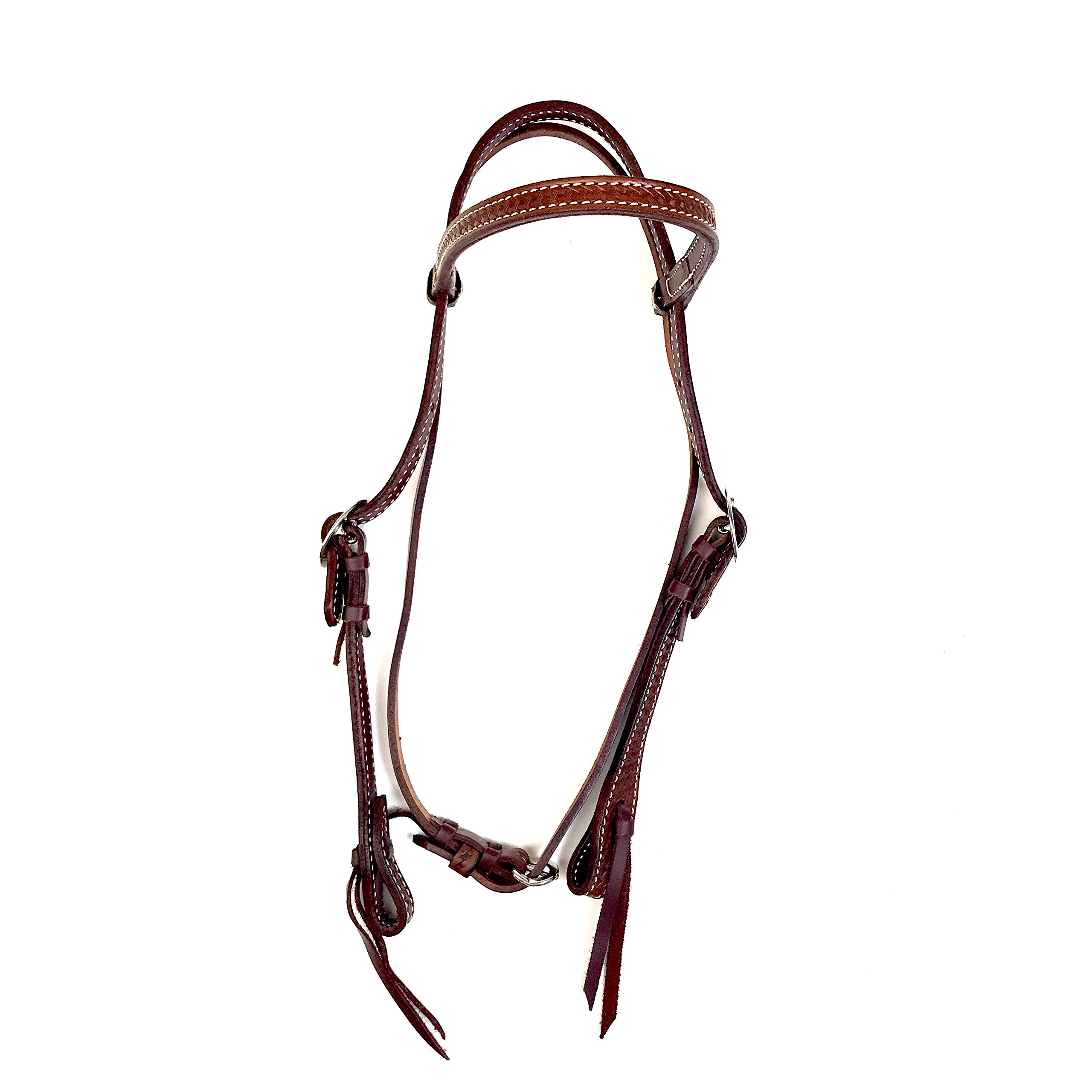 Alamo Saddlery LLC Rancher Supply- 'Light Leather Elite Headstall'