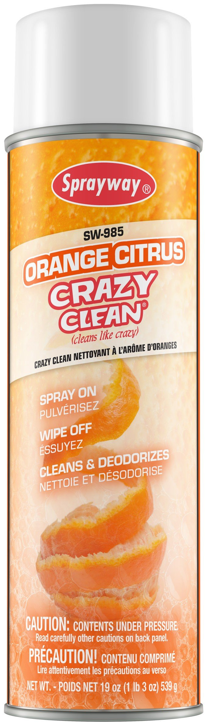 Sprayway SW985 Orange Citrus Crazy Clean 12/Case by Sprayway (Image #1)
