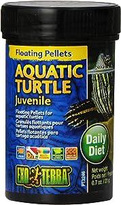 Exo Terra Juvenile Aquatic Turtle Food, Reptile Food