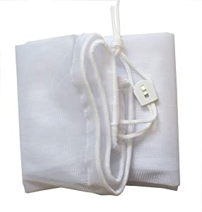 PoolSupplyTown Fine Mesh Leaf Bag with Pull-N-Lock Cord For Pool Leaf Vacuum / Leaf Eater / Leaf Catcher / Leaf Gulper/ Leaf Bagger/ Leaf Master