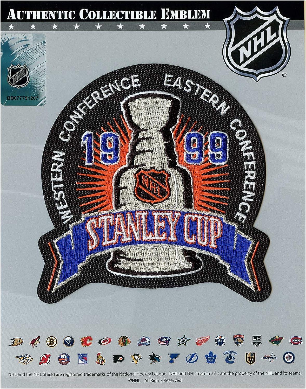 1999 NHL Stanley Cup Final Jersey Jersey Patch Dallas Stars vs. Buffalo Sabres Black