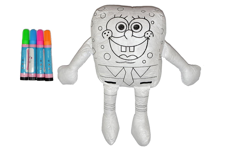Peluche para pintar y lavar Bob Esponja: Amazon.es: Juguetes y juegos
